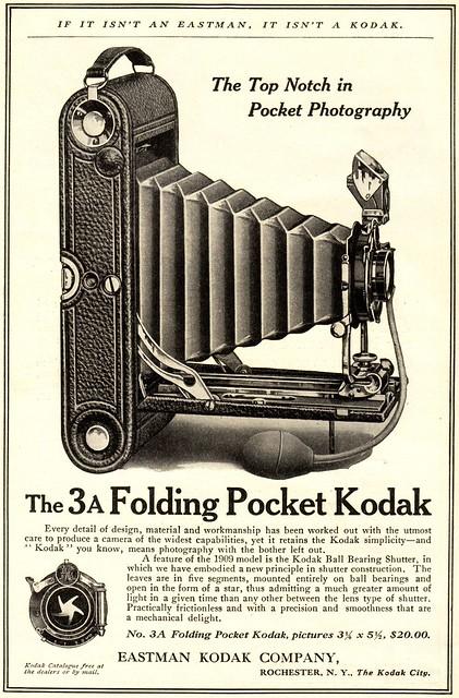 3A Folding Pocket Kodak