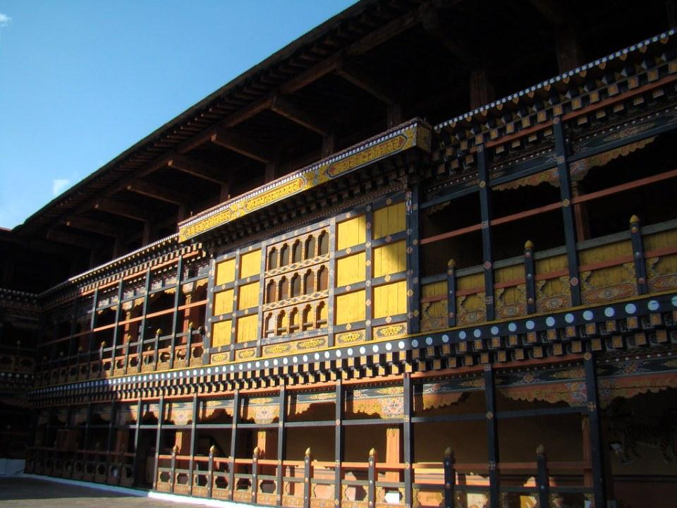 Dzong Rinpung-Paro-Bhutan 16