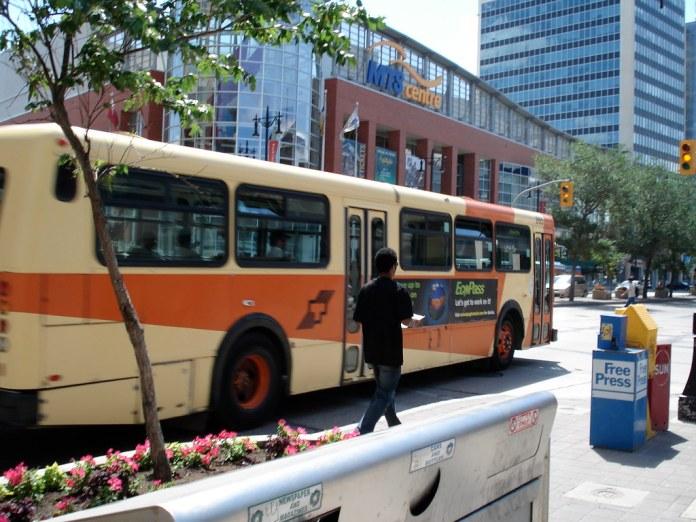 Winnipeg Transit Fall Schedule Starts Sunday, September 3