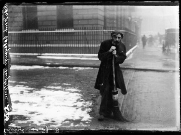 Mendiant balayeur-Angleterre/Londres