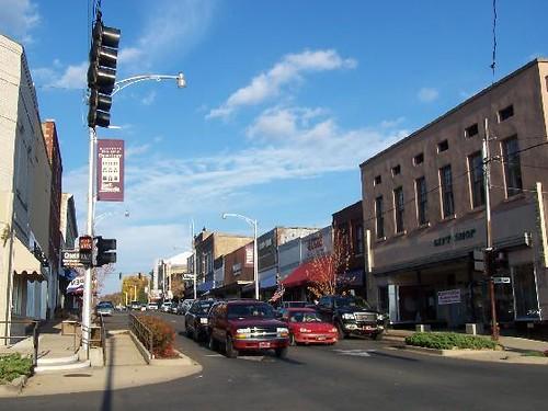 Beautiful Downtown Batesville Arkansas  Batesville is an