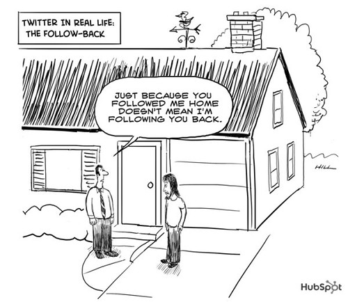 Twitter in Real Life: The Follow Back