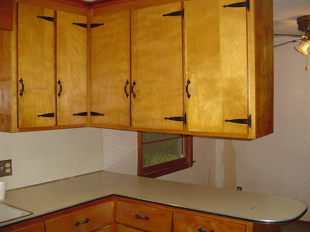 Hanging cabinet iding kitchen in half flickr photo sharing