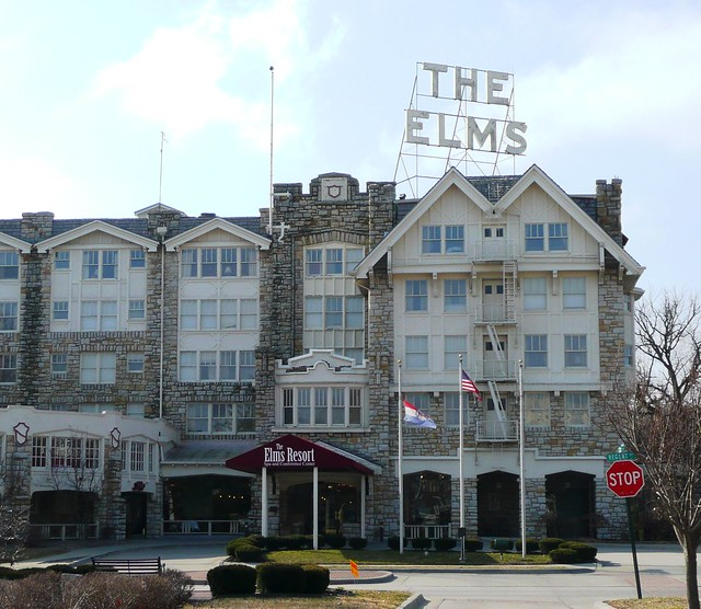 Excelsior Springs MO The Elms Hotel  On the National