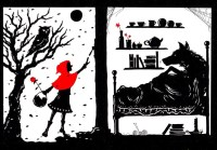 Little Red Riding Hood and the Wolf... | At last she came ...