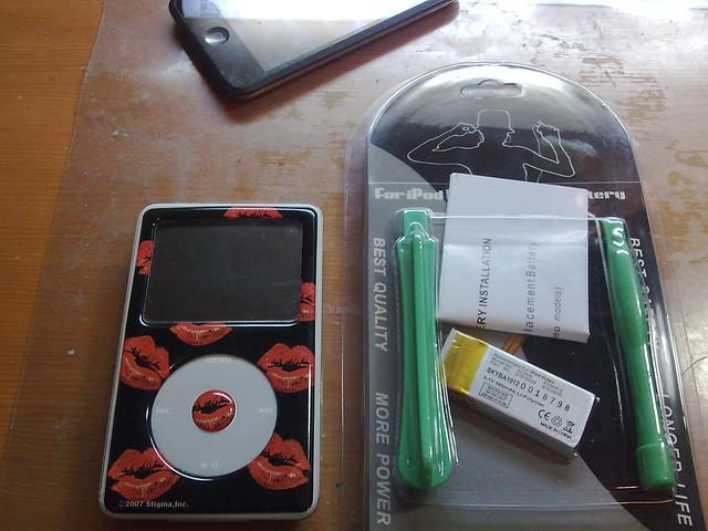 iPod 電池更換的準備工具