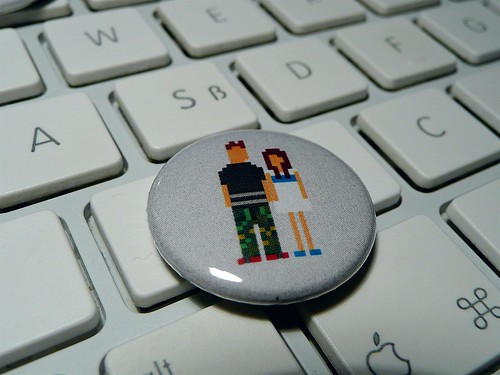 Pixel couple button