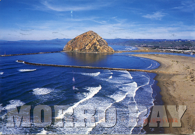 Postal desde Morro Bay California USA  US224684
