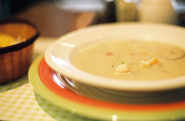Creamy Potato Soup---I'm hungry