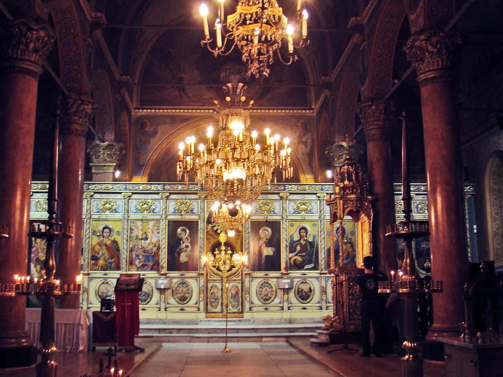 Plovdiv altar interior Iglesia de la Santa Madre de Dios Bulgaria 30
