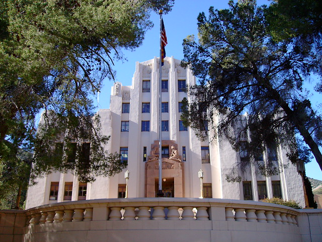 Cochise County Courthouse Bisbee Arizona  Flickr