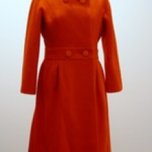 Audrey Hepburn's Orange Coat
