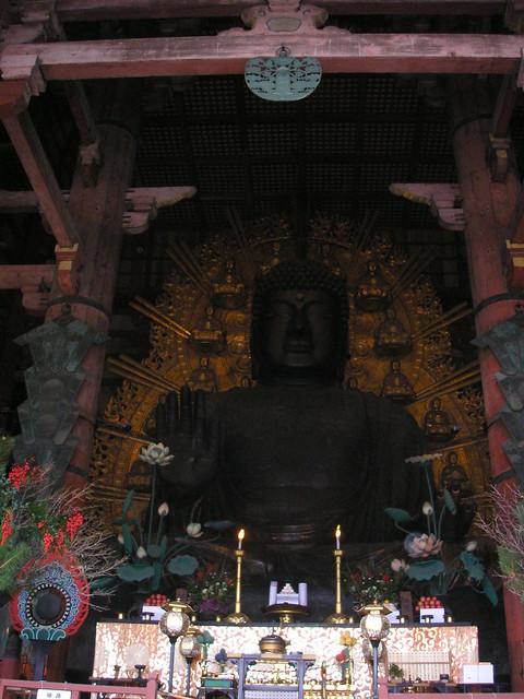 Todaiji, Nara, 2nd January 2009
