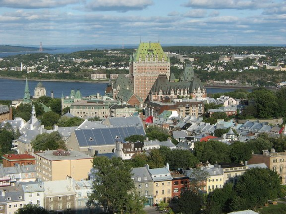 things to do in Quebec City, Old Town panorama