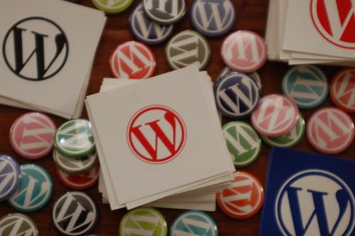 WordPress Schwag