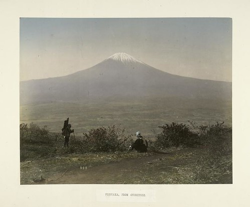 Fujiyama, from Otometoge