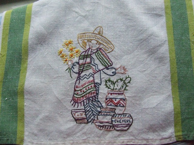 mexican boy towel