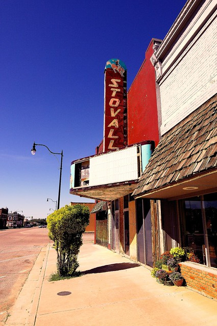 Stovall TheaterSayre OK  Flickr  Photo Sharing