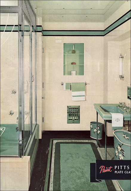 1930s bathroom  a gallery on Flickr
