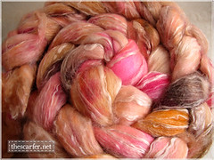 Seawool from Creatively Dyed, 8 oz, USD28 plus actual shipping