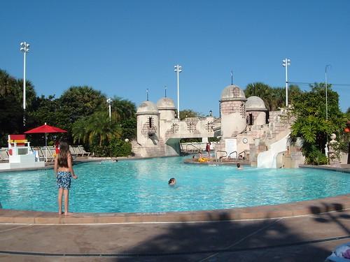 Pool at Walt Disney World Caribbean Beach Club Resort