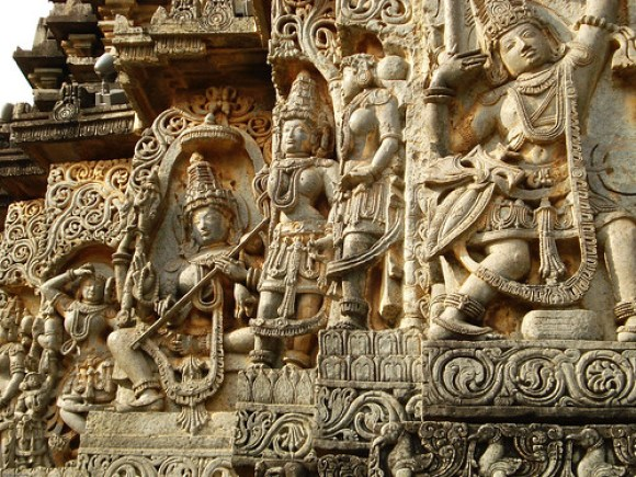 Halebid Sculpture