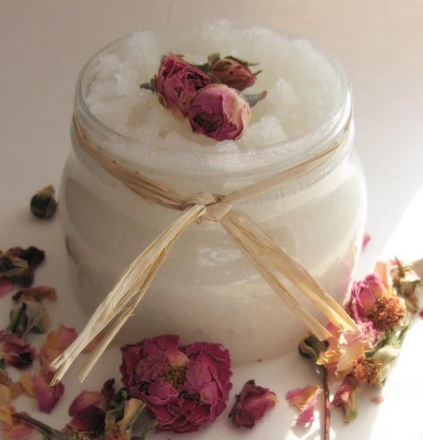 Sugared Rose Foaming Sugar Scrub