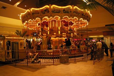 La Palmera Carousel  Carousel at La Palmera Mall in