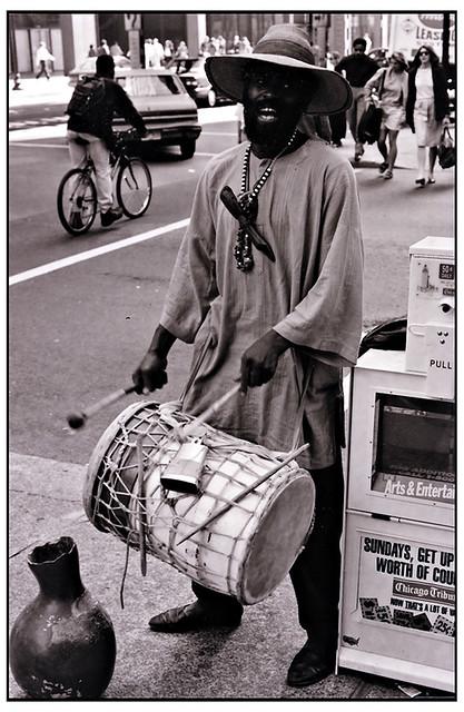 Street Musician circa 1996