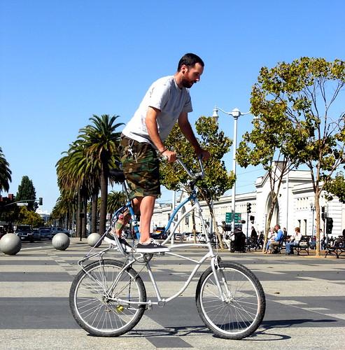 josh tall bike trackstand