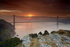 Daybreak at the Golden Gate