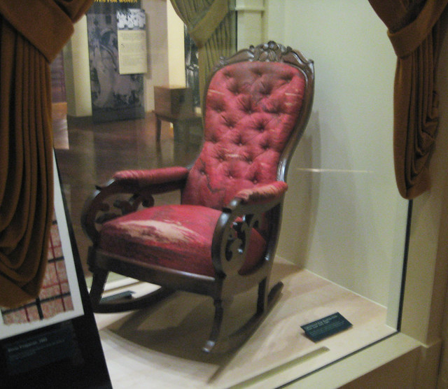 Lincolns assassination chair  Flickr  Photo Sharing