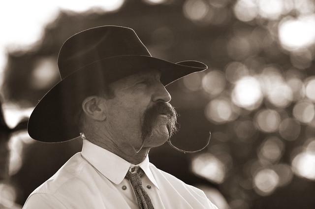Handlebar Moustache Cowboy Flickr Photo Sharing
