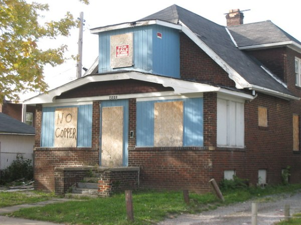 No Copper Sign on Vacant Home Flickr Photo Sharing!