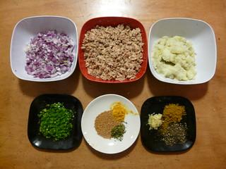 Sri Lankan Fish Cutlets - Step 1