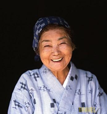 Okinawan Elderly Woman