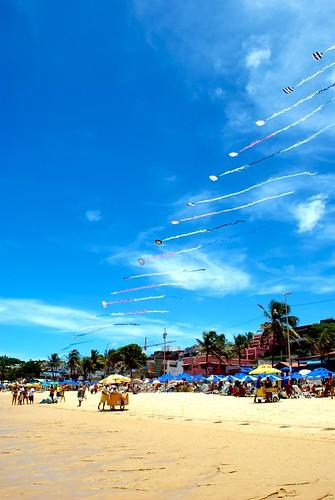 Beach kites