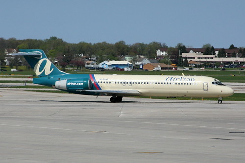 AirTran Airways Plane on a runway