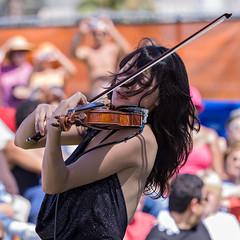 violinist Lucia Micarelli