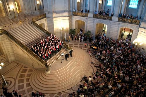 Send off Concert at City Hall