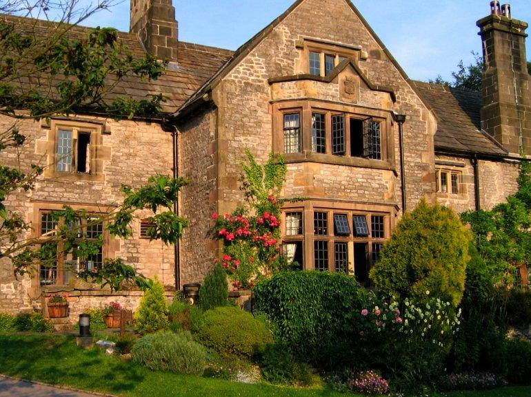 The YHA Hostel in Village of Hartington in Derbyshire