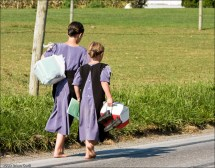 Barefoot Amish Girls