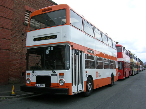 1451 Leyland Olympian, NJA 568W, Greater Manchester Transport