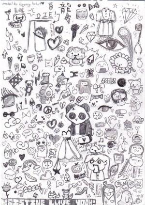 random drawings doodles snippy crab fantasy kristine google