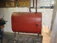 basement oil furnace tank. | Flickr - Photo Sharing!