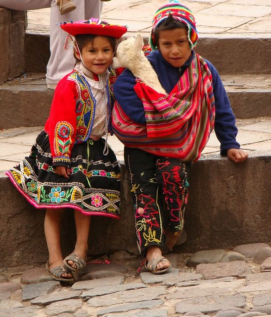 Crianças Peruanas - Foto Mariana Martins
