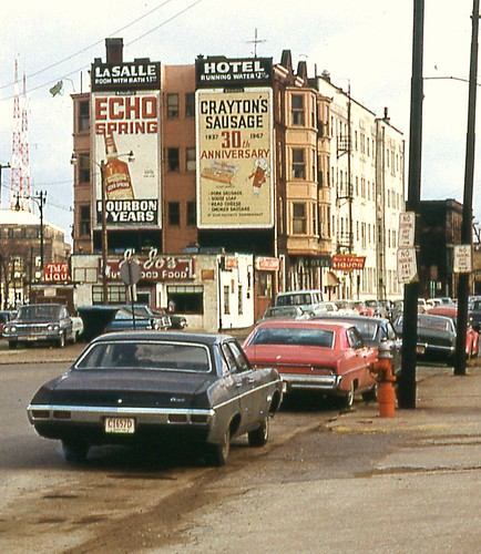 LaSalle Hotel Signage Cleveland OH Dec 68