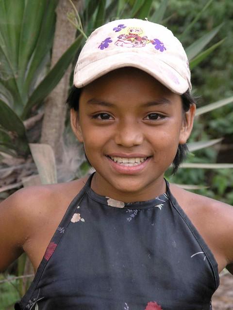 Nia bonita  Pretty girl Santa Brbara Honduras