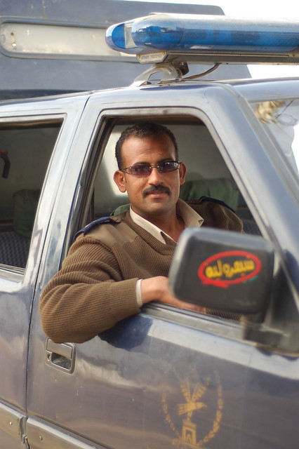 Egpytian traffic police