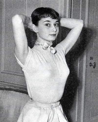 Audrey Hepburn in Roman Holiday  Costume Design by Edith He  Flickr  Photo Sharing